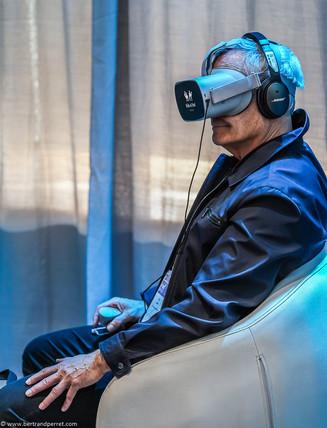 Photographie événementielle - masque de réalité virtuelle
