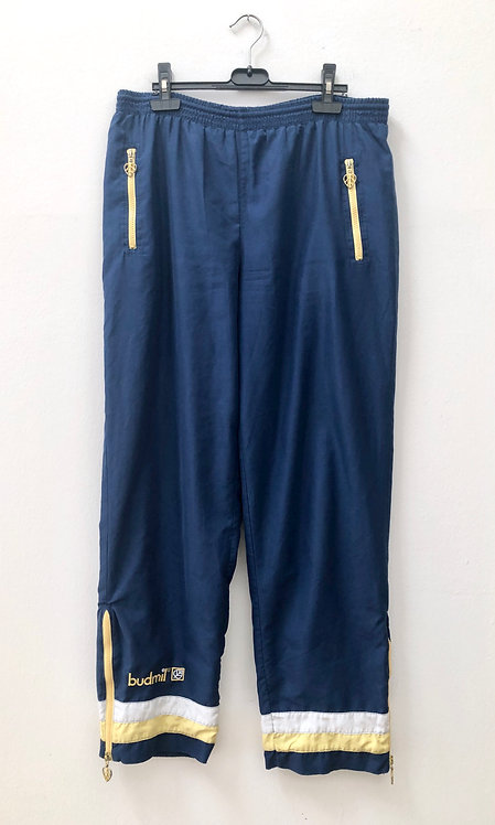 yellow and blue budmil joggers
