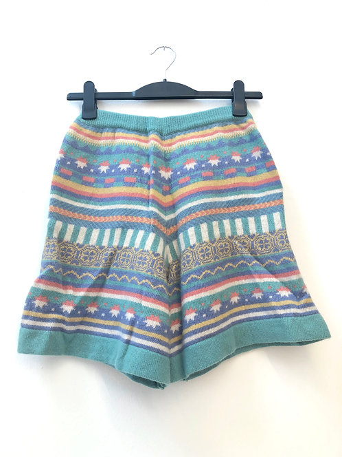 SOLD colored wool shorts