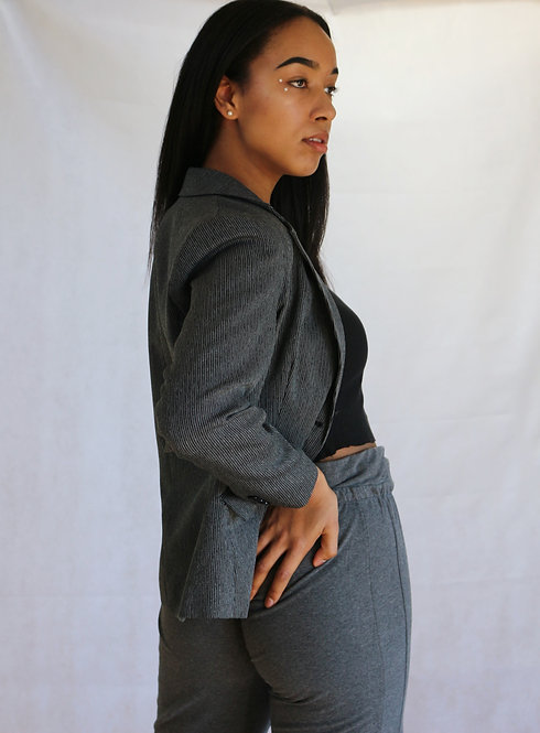 SOLD grey blazer