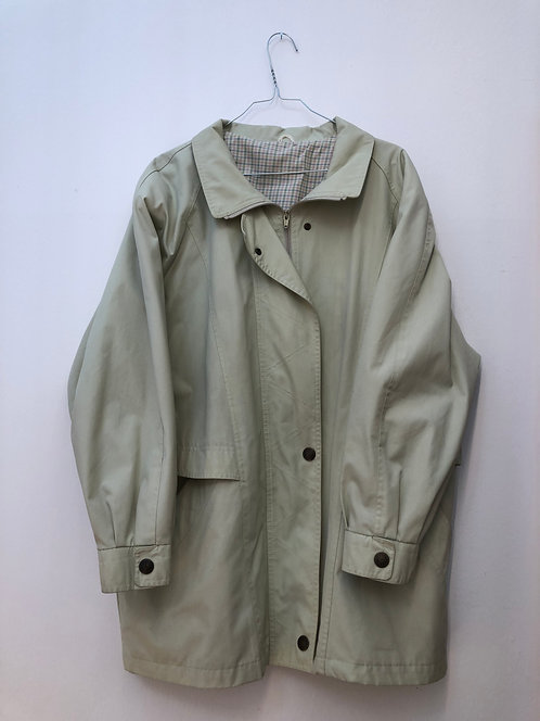 SOLD lime green coat