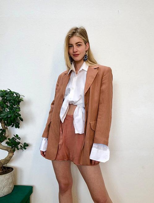 SOLD brown/rosé suit