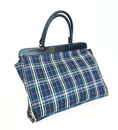 SOLD blue caro bag