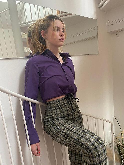 violet bomber shirt