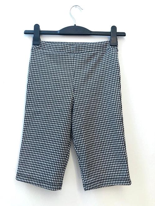 SOLD checkered tight 1/2 shorts