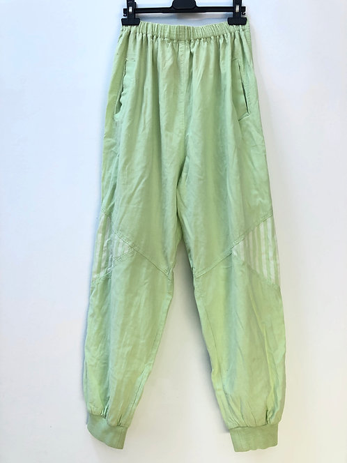 SOLD re-worked lime joggers