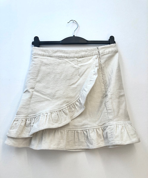 SOLD creme cord skirt