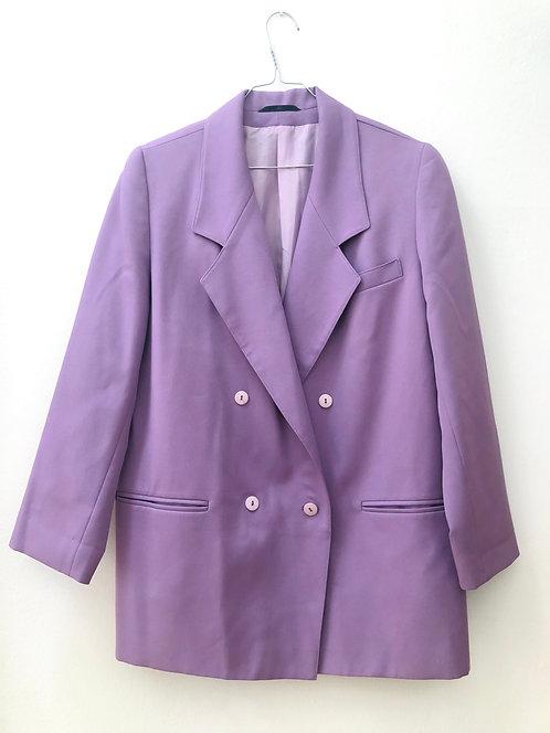 SOLD violet long blazer