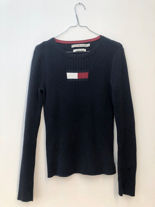 SOLD blue hilfiger sweater