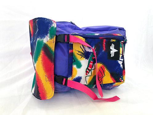 SOLD violet backpack