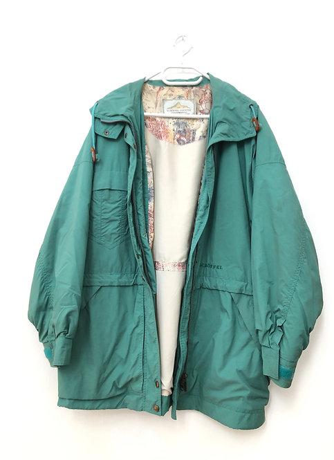 turquoise vintage schöffel jacket