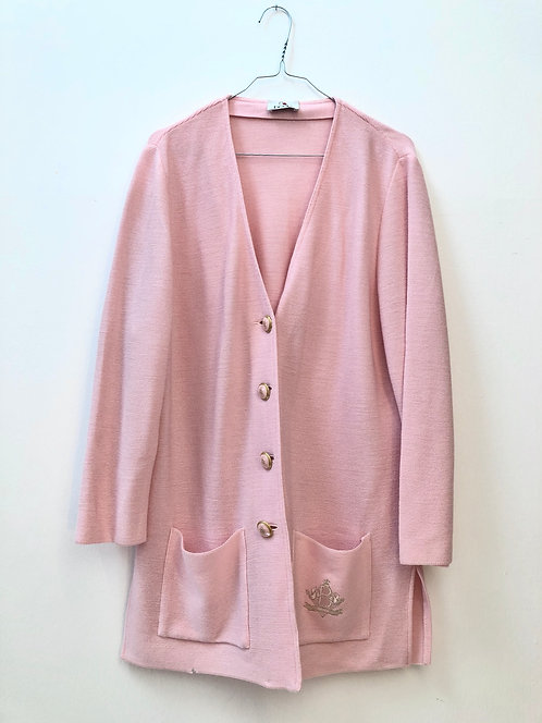 baby pink suit