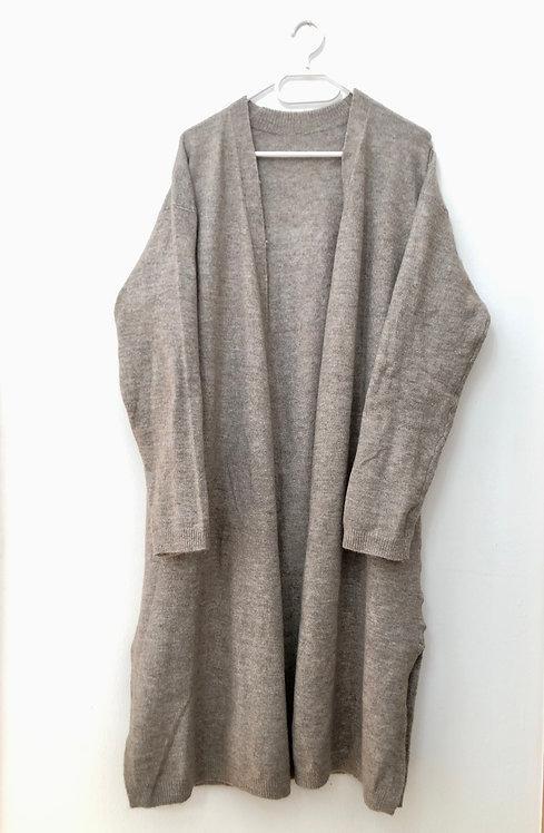 long cozy jacket
