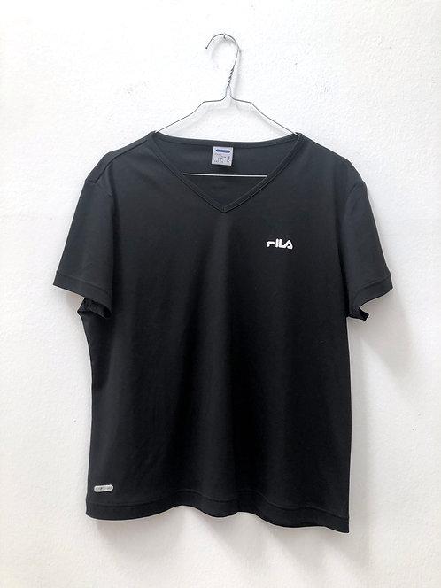 fila sport shirt black