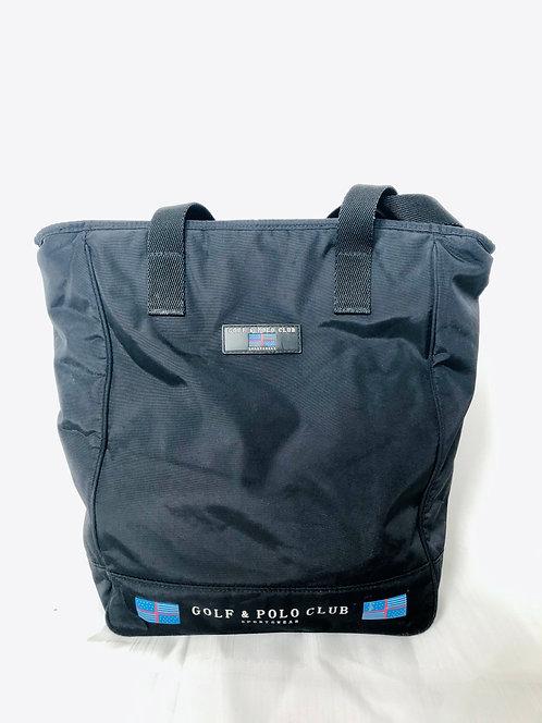 SOLD black polo bag