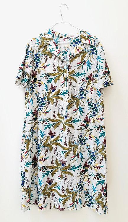 SOLD vintage flower dress