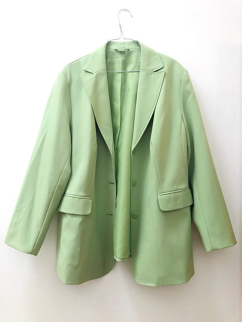 SOLD lime long blazer