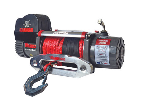 Samurai 12000 Electric Winch - Synthetic