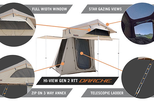 Darche Hi-View 1400 Roof Tent with Annex