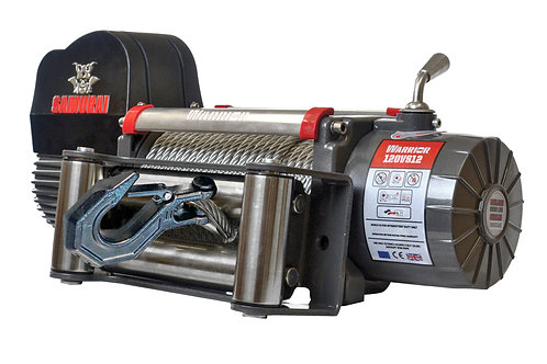 Samurai 12000 Electric Winch - Steel