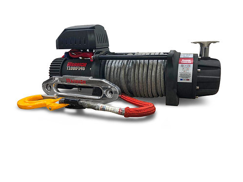 T1000 145 Military spec winch with Armortek Extreme synthetic