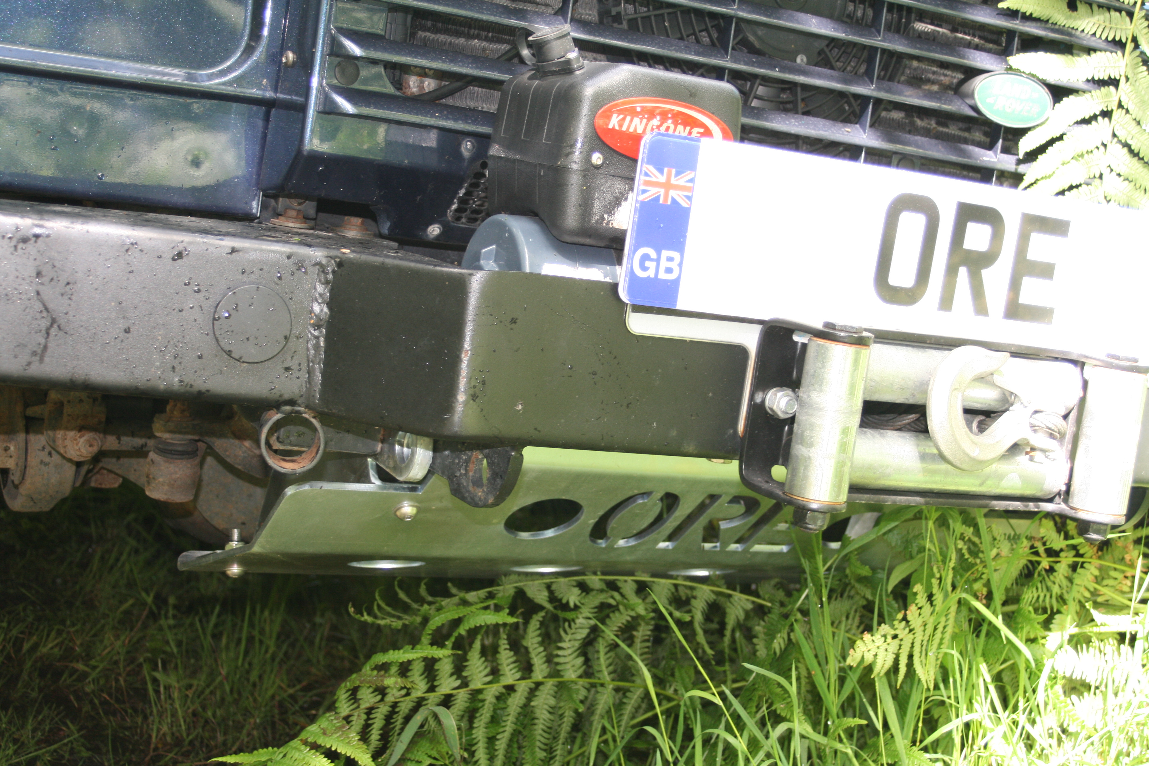 ORE, OakRidge engineering, steering guard, ore4x4, ore4x4uk, land rover defender, defender accessori