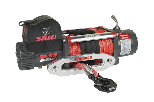 Samurai 14500 Electric Winch - Synthetic