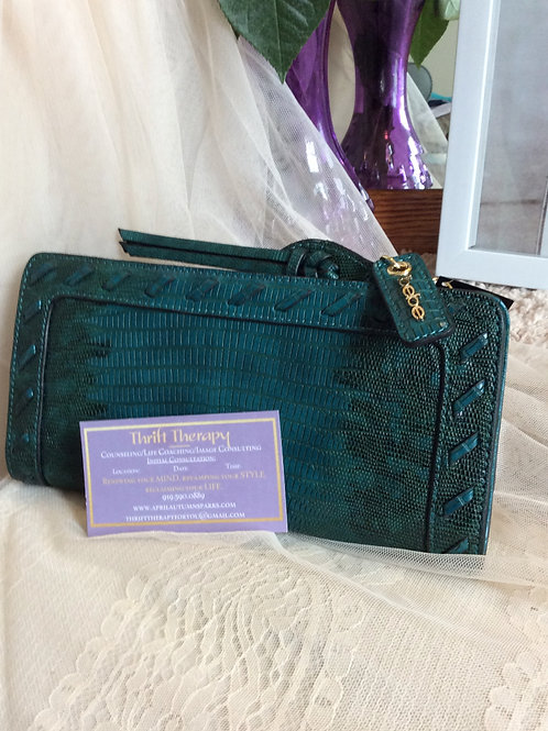 Bebe Forest Green Wallet