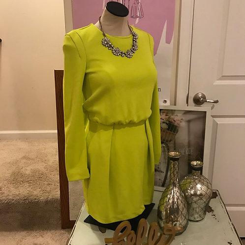 H&M Lighting Lime Green Dress