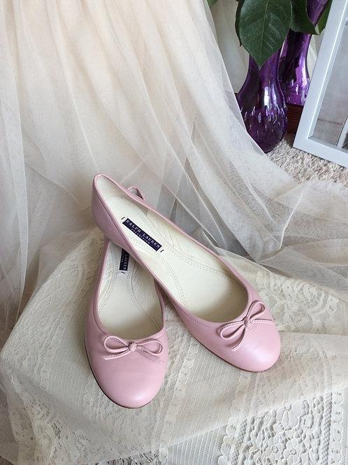 Pink Ralph Lauren Ballet Slippers Size 9