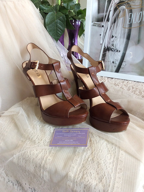 Guess Heeled Strappy Sandal