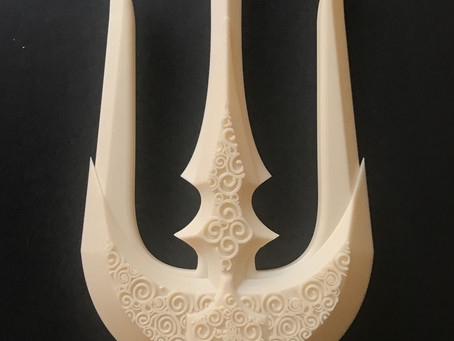 Comic Con Chronicles: 3D Printed Trident, Part 1