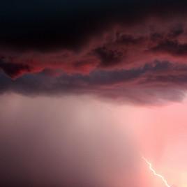 Cloud Series #44 (Pink Lighting), 2009
