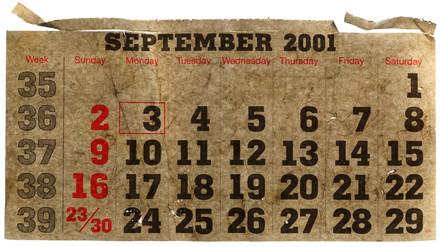 Calender,September 2001, 2004