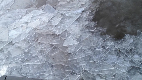 Hudson Ice in Tide 2014