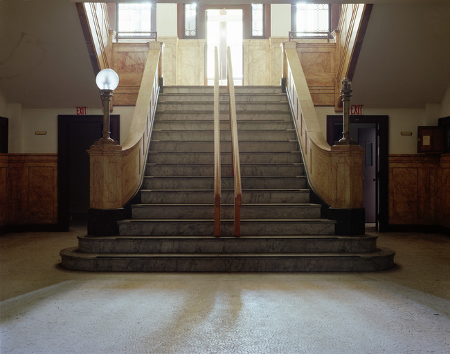 NSMH, Stairwell, Administration Building 1999