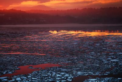 Evening River 1, 2014