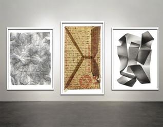 """Works on Paper- Frames 40x50"""""""