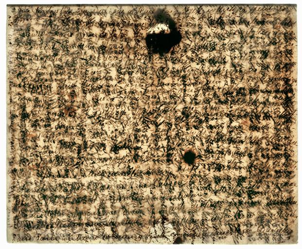 John Keats Cris Cross Letter to his Brothers, 2005