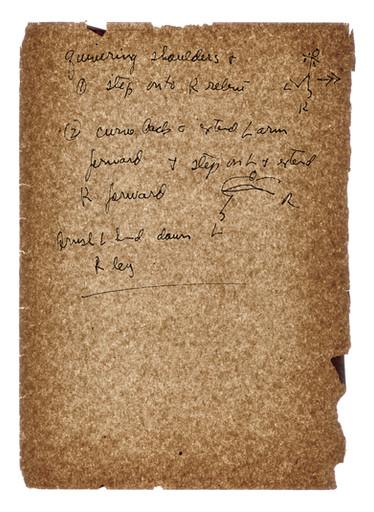 Works on Paper- Merce Cunningham, Aeon, 1961, 2007
