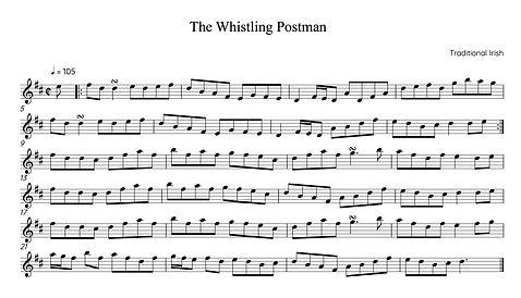 The Whistling Postman - Full Score.jpg