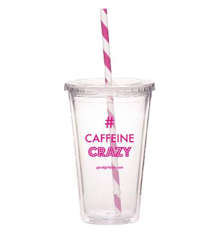 #CaffeineCrazy Iced Coffee Tumbler