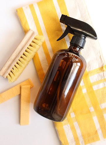 16 oz. Amber Glass Spray Bottle