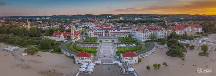 Sopot - widok na Dom Zdrojowy