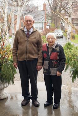 Grandparents Portrait