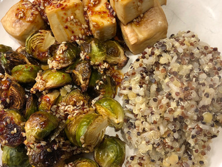 Brussel Sprouts & Tofu