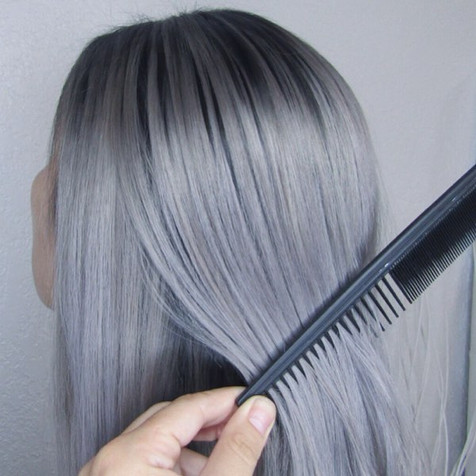 Silver with Shadow Root