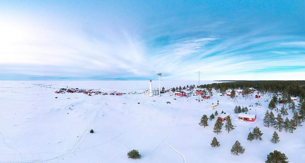 Marjaniemen majakka ja kalastajakylä, Atte Sipola