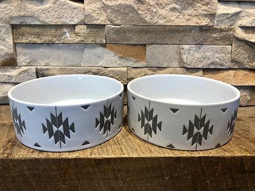 Tribal Pet Bowl Medium