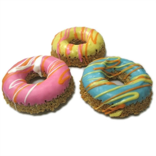 Seasonally Decorated Donut Treats